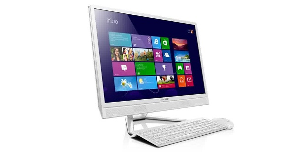 Info lenovo all in one PC C260-A8508 komputer pc terbaru 2015 murah , processor intel Celeron