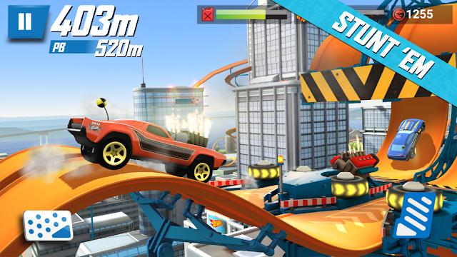 Hot Wheels: Race Off Mod Apk Free Shoping Terbaru