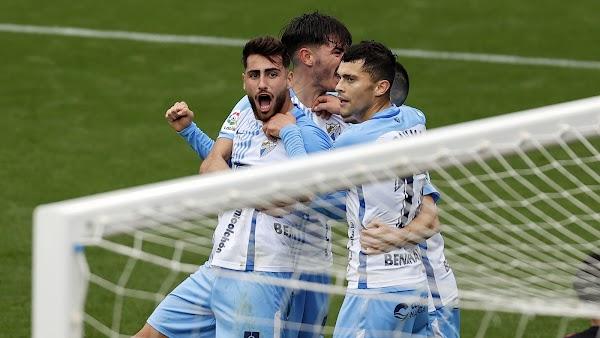 El Málaga tiene la salvación a cuatro victorias