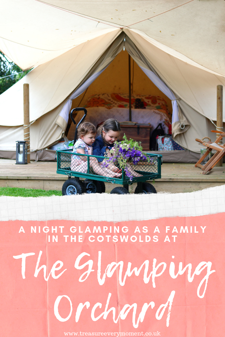TRAVEL: A Night Glamping as a Family in the Cotswolds at The Glamping Orchard