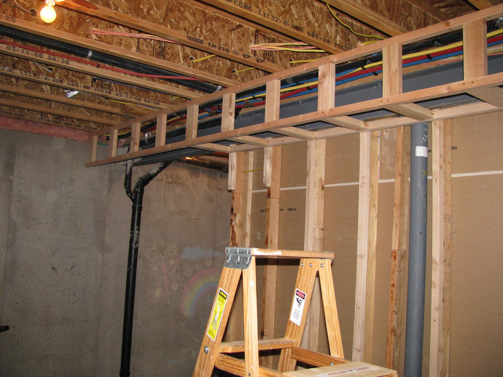 Basement Project: My First Soffit