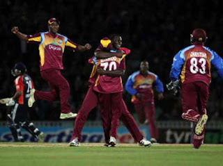 England vs West Indies 2nd T20I 2011 Highlights