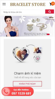 Template blogspot shop bán hàng đẹp