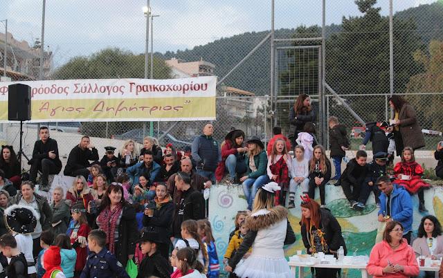 Θεσπρωτία: Μια όμορφη αποκριάτικη εκδήλωση έγινε στο Γραικοχώρι