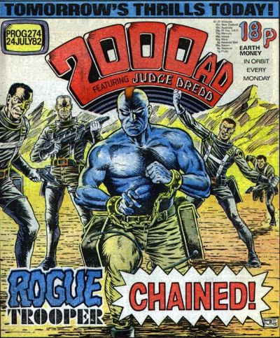 2000 AD Prog 274, Rogue Trooper