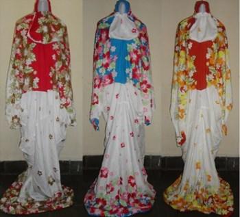 Mukena abaya model terkini yang digemari