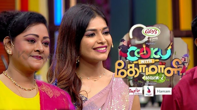 Vijay TV brings Shakeela for 'Cook With Comali'