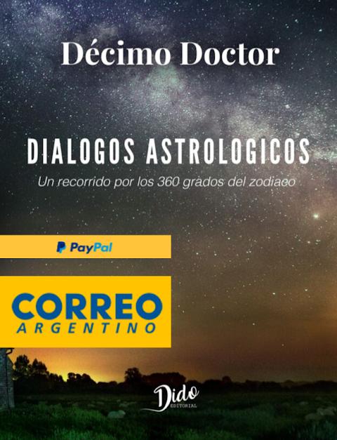 Envíos Internacionales del libro Diálogos Astrológicos