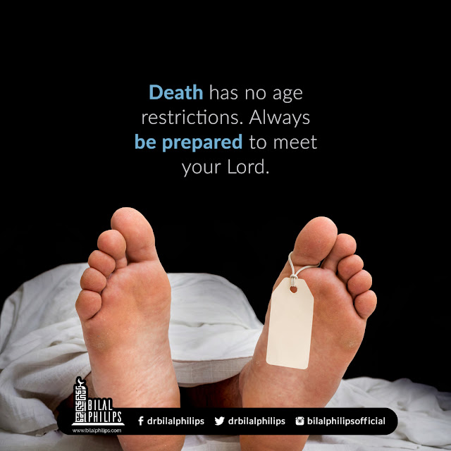 Thought of the day | 7 June 2021 |  Death has no age restrictions
