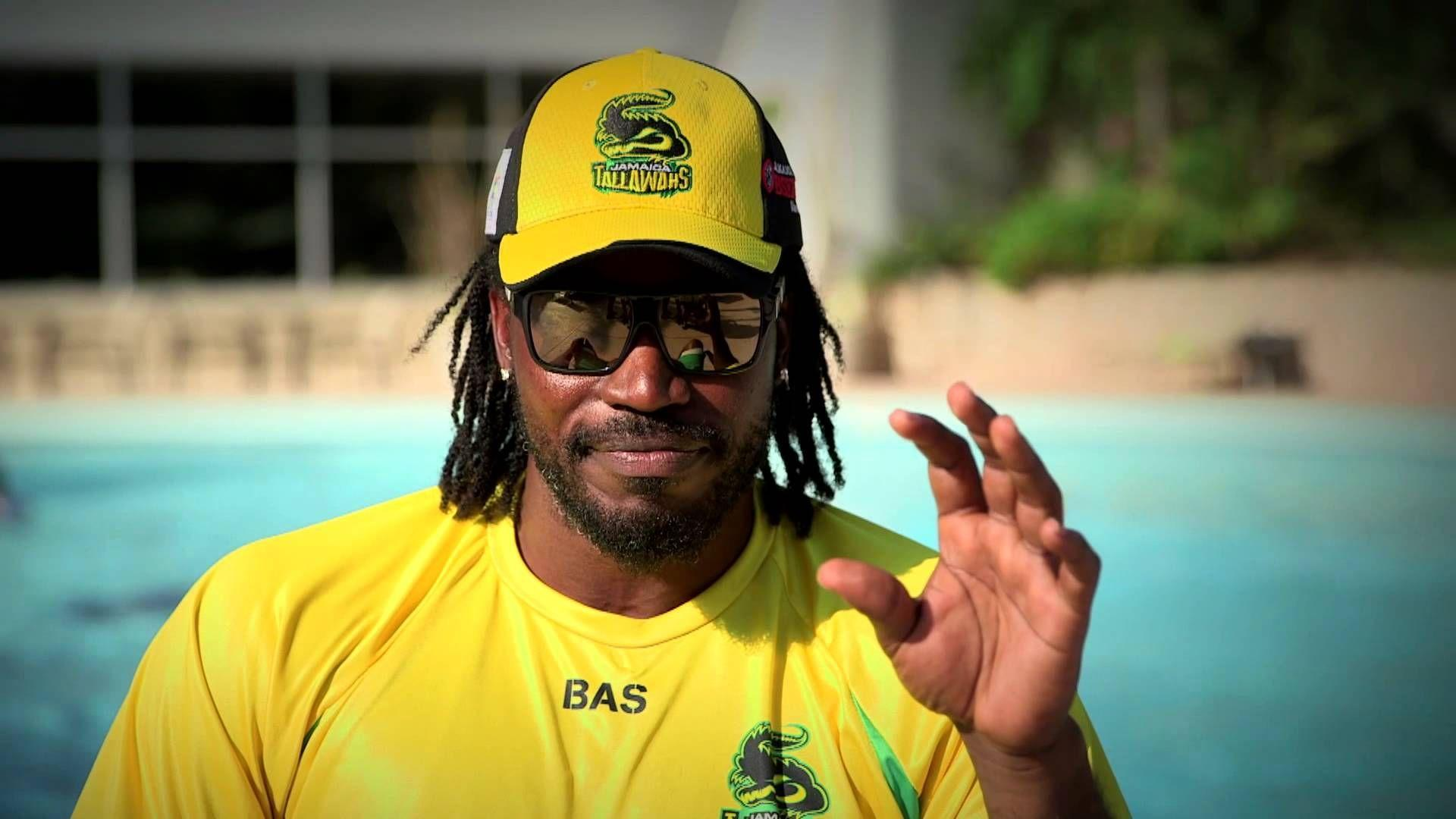 Chris Gayle in Jamaica Thallawas