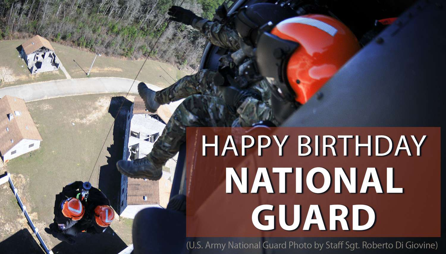 U.S. National Guard Birthday Wishes Sweet Images