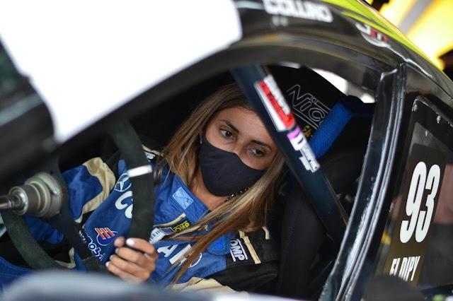 Valentina Funes tiene exitosa prueba con un auto del Top Race Junior