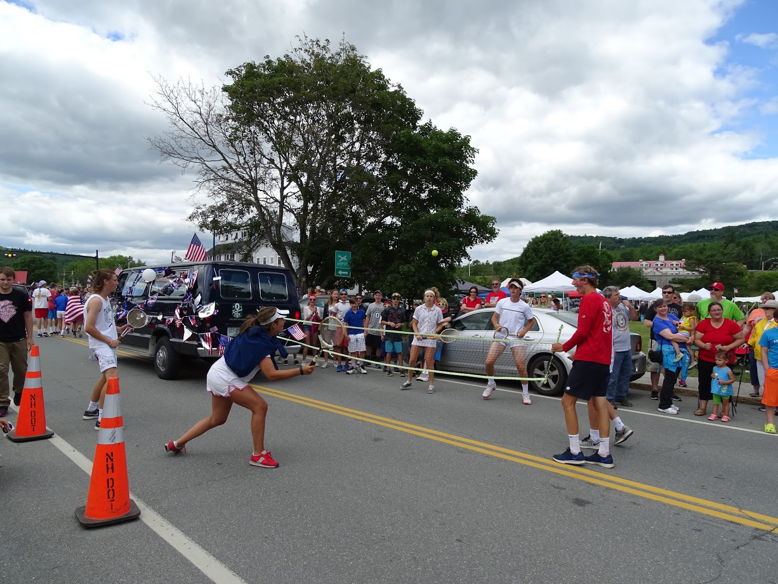 Barefoot Adventure 2016: July 2nd 26th Annual Old Home Days parade ...