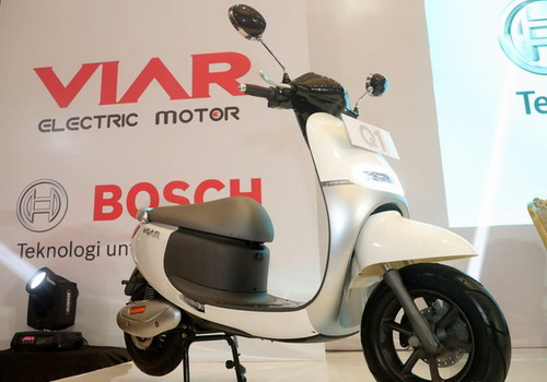 Tinuku.com Viar Q1 electric motorcycle officially sold