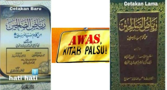 Naudzubillah, Inilah Kitab Yang Dipalsukan Oleh Salafi Wahabi
