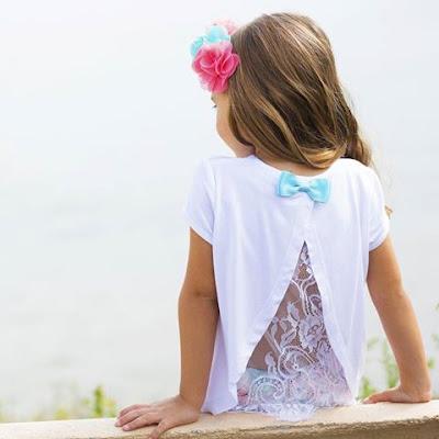 camiseta estampada niña bimbalina amplia coleccion de camisetas de verano para niñas