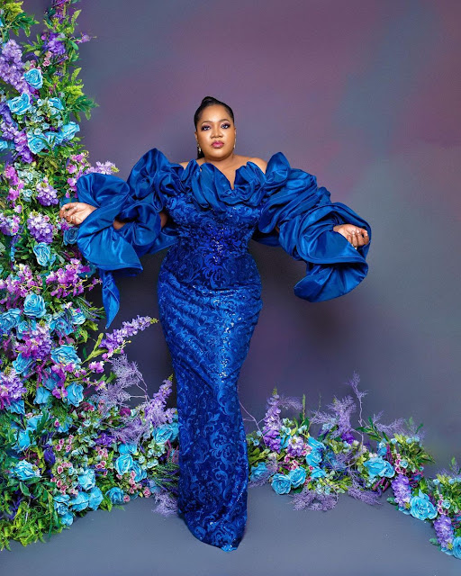 I Thank God for this new age- Toyin Abraham says as she clocks 41 year old in Grand style (Photos)