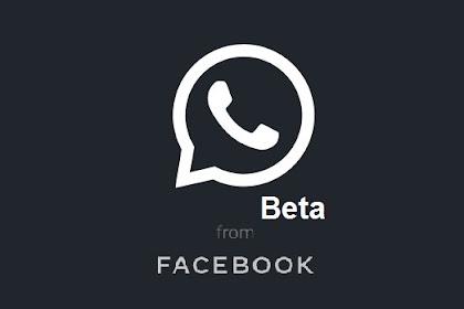 Cara Mengaktifkan Whatsapp Beta Darkmode