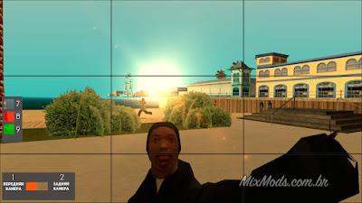 gta sa mod cleo celular smartphone tirar selfie foto gta v