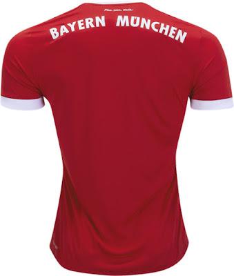 Adidas Bayern Munich Home Jersey 17-18