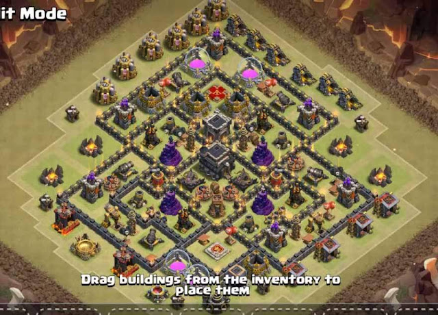 Base COC TH9 War 12