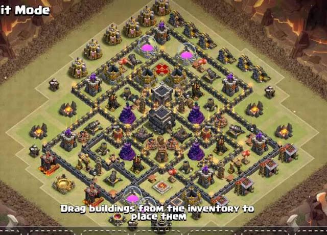 Base COC TH9 War 12