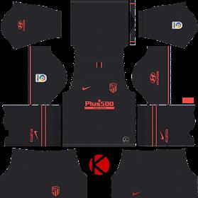 Diploma aparato Archivo  Atletico Madrid 2019/2020 Kit - Dream League Soccer Kits - Kuchalana