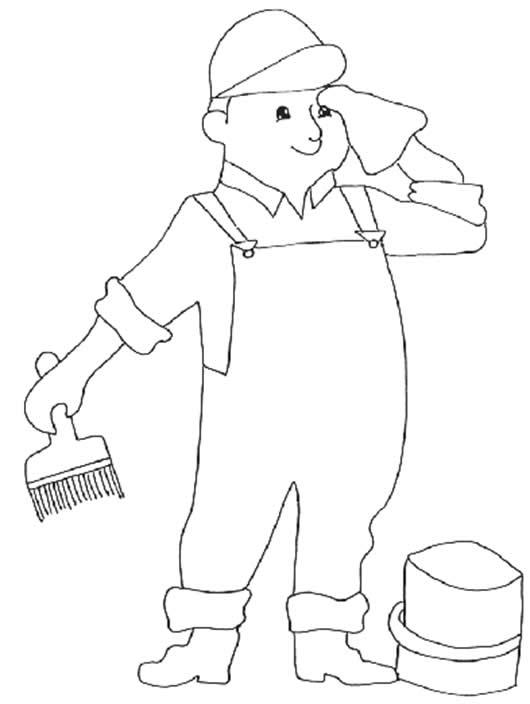 dibujo de veterinario para pintar