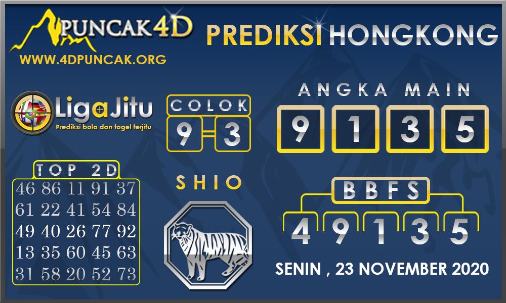PREDIKSI TOGEL HONGKONG PUNCAK4D 23 NOVEMBER 2020