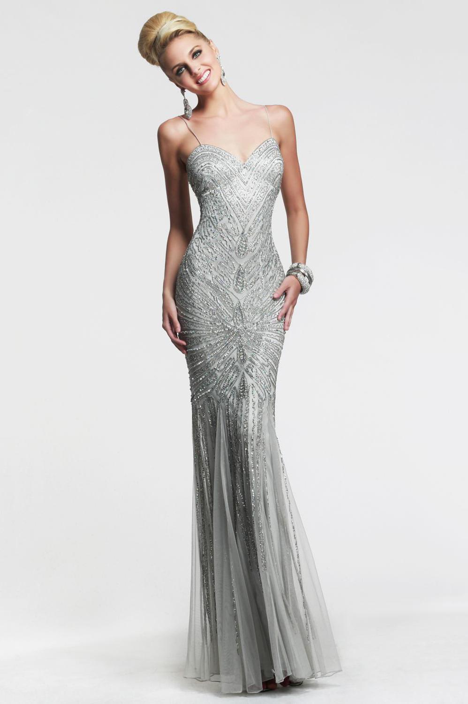 Sheath Palmerston North Spaghetti Strap Beading Well-Formed Floor Length Evening Dress, vestido de festa, party dress