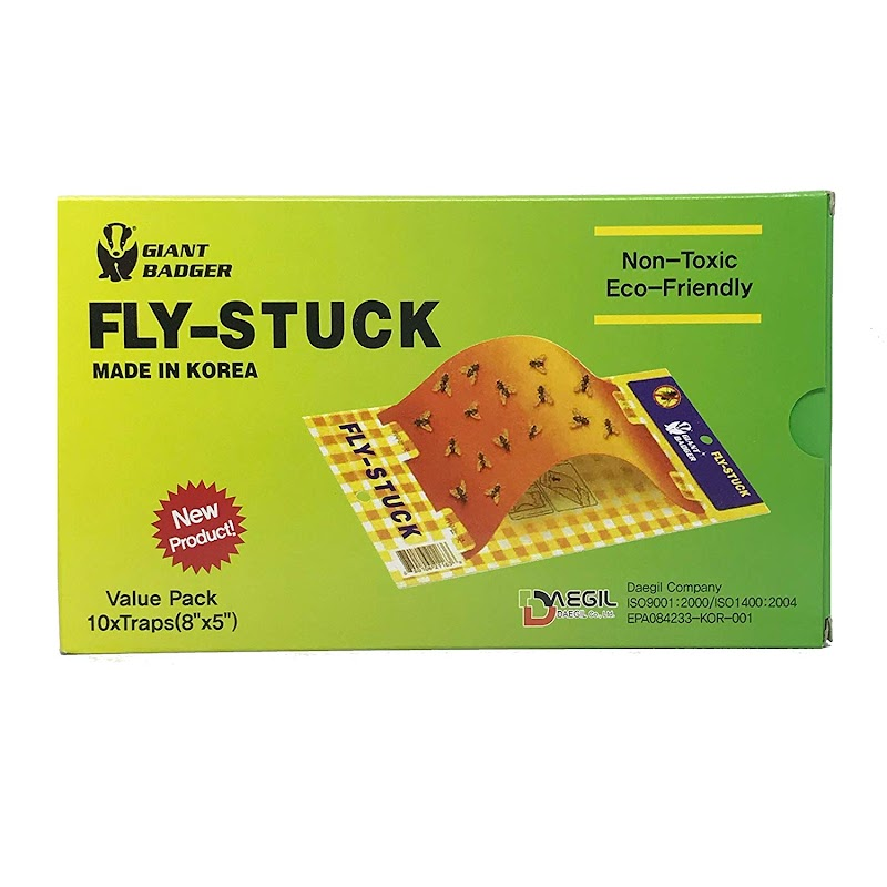 AMAZON - 50% Off Sticky fly paper 10 pack