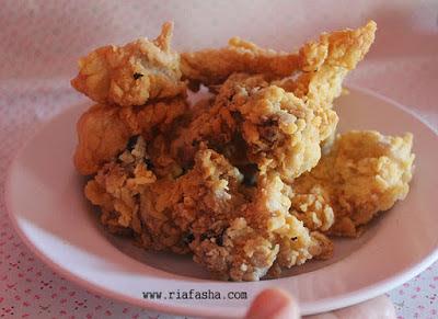 resep ayam goreng kriuk dan krispy bahan mudah