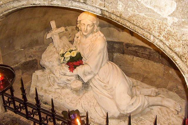 María Magdalena en la Basílica de Saint Maximin