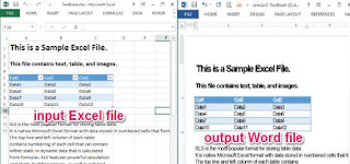 inserire tabelle excel in word