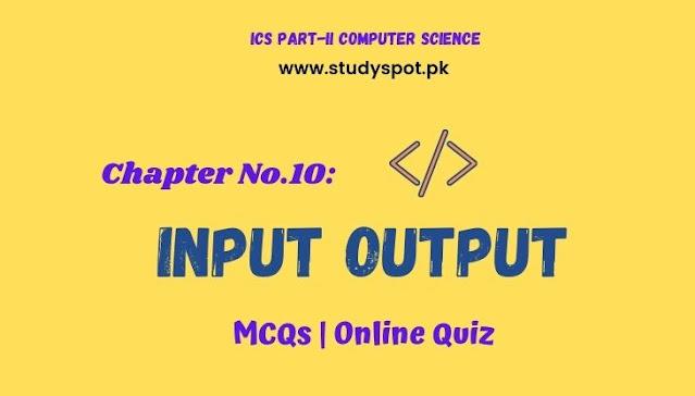 input output in C mcqs quiz