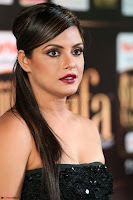 Glamarous Actress Neetu Chandra in Black dress at IIFA Utsavam Awards 003.JPG