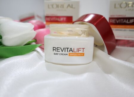 Loreal Revitalift Day Cream SPF 35 PA ++ Review