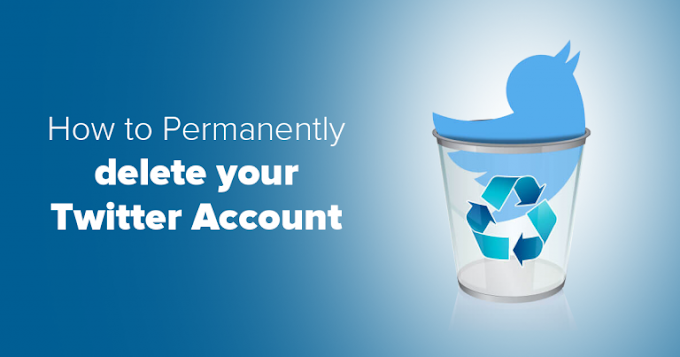 How to delete twitter account permanently
