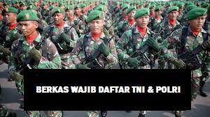 DAFTAR TNI POLRI