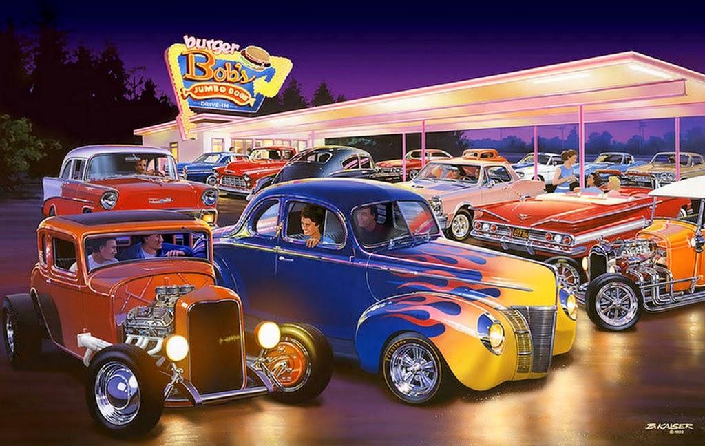 1957 Cars Restored Or Wallpapers Cuadros Modernos Pinturas Y Dibujos Pinturas Modernas Al