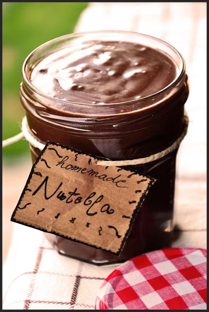 Simple Brownie Recipe Nutella