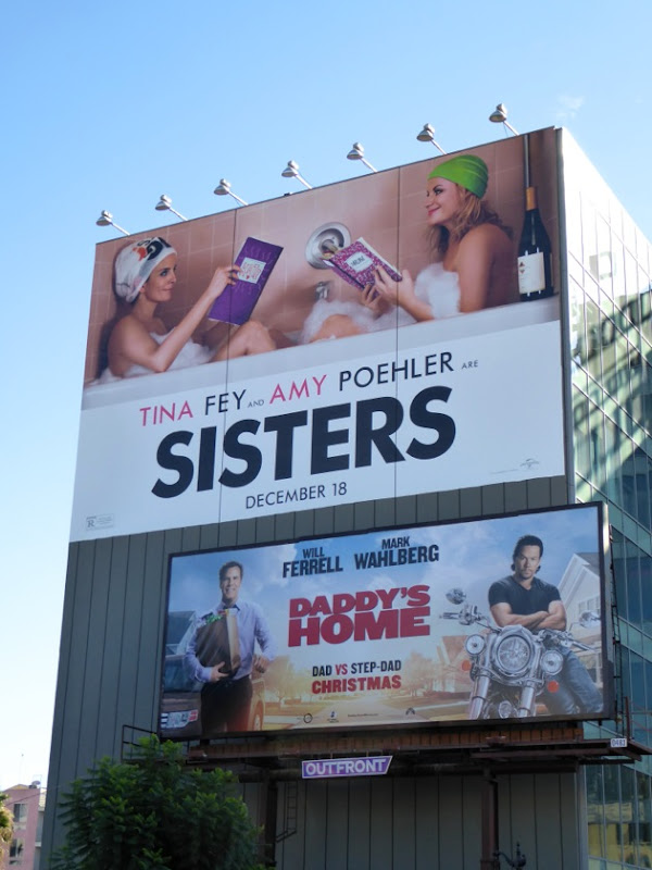 Giant Sisters film billboard