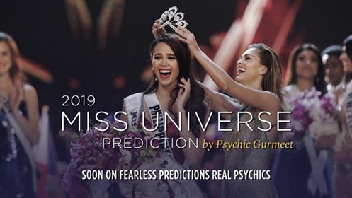 FEARLESS PREDICTIONS REAL PSYCHICS: COMING UP: 2019 Miss