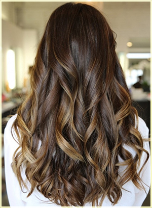 Two tone hair color dark on top light on bottom hair color ideas dark chocolate and caramel two tone hair two tone hair color ideas for long hair solutioingenieria Images