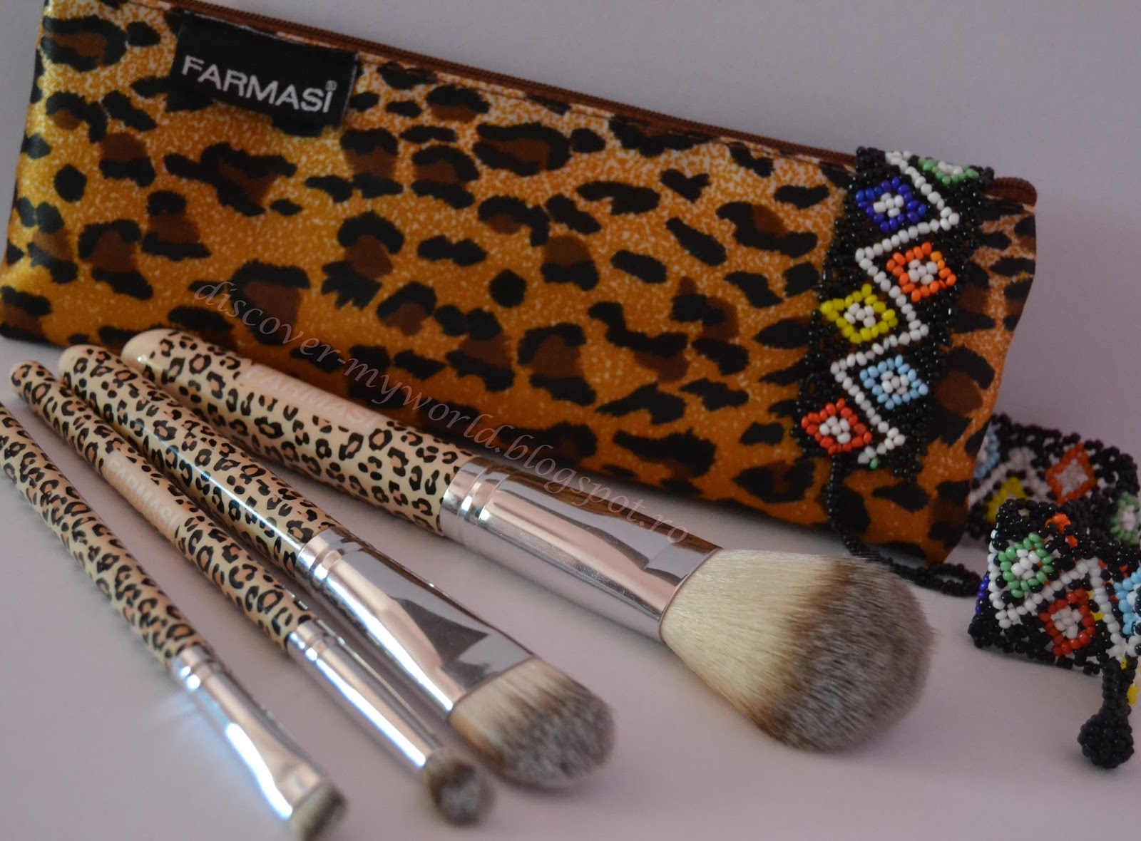 Discover Myworld Farmasi Set Pensule De Machiaj Leopard