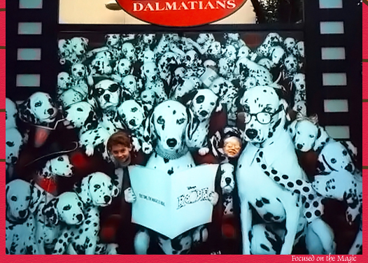 101 Dalmatians Backstage Tour MGM Studio  Walt Disney World  Florida USA 1997