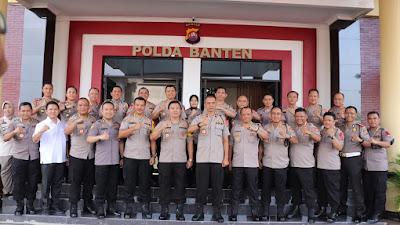 987 Personel Polda Banten naik pangkat