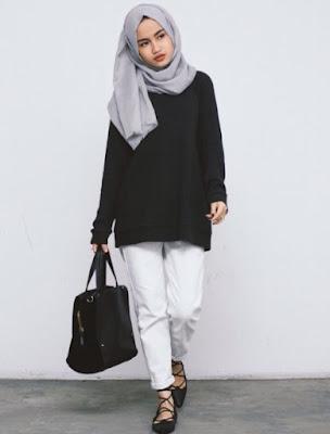 Fashion Wanita Berhijab 2017