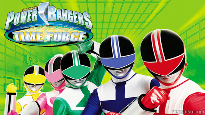 Power Rangers Time Force Batch Subtitle Indonesia