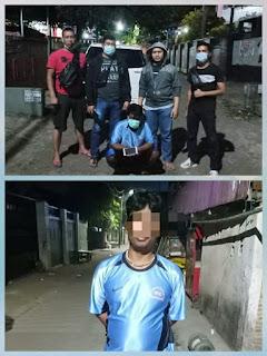 Pelaku Curat Lintas Kabupaten Di Bekuk Tim Resmob Polda Di Jalan Rappokalling Makassar